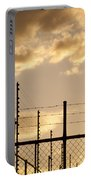 Sunset Fence Portable Battery Charger