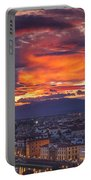 Sunset Over Florence Portable Battery Charger