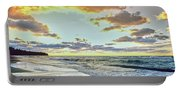 Sunset Over Lake Superior, Keweenaw Portable Battery Charger