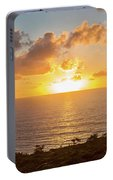 Sunset Over The Pacific Ocean, Torrey Portable Battery Charger