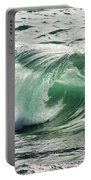 Surf Zone At The Barents Sea Coast Portable Battery Charger