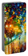 Swimming Sky Portable Battery Charger by Leonid Afremov