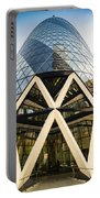 Swiss Re Tower In London Portable Battery Charger
