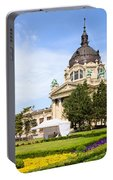 Szechenyi Baths In Budapest Portable Battery Charger