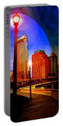Tampa History In Reflection Portable Battery Charger