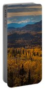 Taiga In Fall Portable Battery Charger