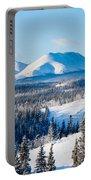 Taiga Winter Snow Landscape Yukon Territory Canada Portable Battery Charger