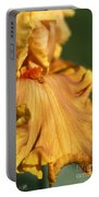 Tall Bearded Iris Named Penny Lane Portable Battery Charger
