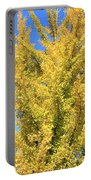 Tall Ginkgo Tree Portable Battery Charger