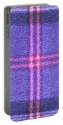 Tartan Pattern Portable Battery Charger