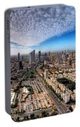 Tel Aviv Skyline Portable Battery Charger