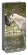 Tender Moments - Wild Horses  Portable Battery Charger
