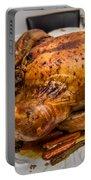 Thanksgiving Turkey Dinner Portable Battery Charger
