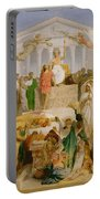 The Age Of Augustus The Birth Of Christ Portable Battery Charger