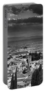 The Alhambra And Albaycin In Granada Portable Battery Charger