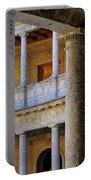 The Alhambra Palace Of Carlos V Portable Battery Charger by Guido Montanes Castillo