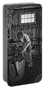 The Apprentice Monochrome Portable Battery Charger by Steve Harrington