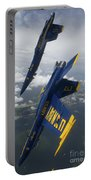 The Blue Angels Perform A Looping Portable Battery Charger