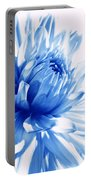 The Blue Dahlia Flower Portable Battery Charger