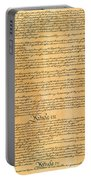 The Constitution, 1787 Portable Battery Charger