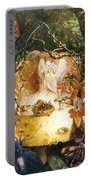 The Fairies Banquet Portable Battery Charger by John Anster Fitzgerald