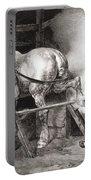 The Farrier, From Etudes De Cheveaux Portable Battery Charger