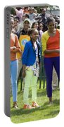 The First Lady And Daughters Portable Battery Charger