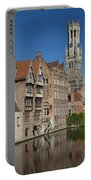 The Historic Center Of Bruges Portable Battery Charger