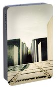 The Holocaust Memorial Berlin Germany Portable Battery Charger