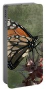 The Monarch Painterly Portable Battery Charger