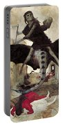The Plague Portable Battery Charger by Arnold Bocklin