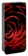 The Rose Digital Art Portable Battery Charger