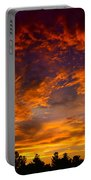 The Sky Is On Fire  Portable Battery Charger