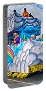 The Spirit Of Mardi Gras Portable Battery Charger by Steve Harrington