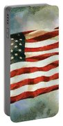 The Stars And Stripes Portable Battery Charger