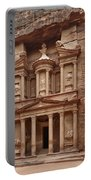 the treasury Nabataean ancient town Petra Portable Battery Charger