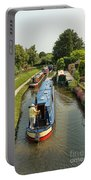 The Trent And Mersey Canal At Alrewas Portable Battery Charger