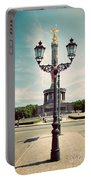 The Victory Column In Berlin Germany Portable Battery Charger