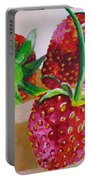 Three Strawberries Portable Battery Charger