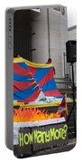Tibetan Protest March Portable Battery Charger