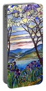 Stained Glass Tiffany Frank Memorial Window Portable Battery Charger