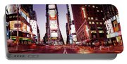 Times Square, Nyc, New York City, New Portable Battery Charger