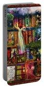 Treasure Hunt Book Shelf Portable Battery Charger