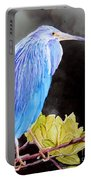 Tricolored Heron Portable Battery Charger
