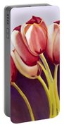 Tulips Are People Xiii Portable Battery Charger