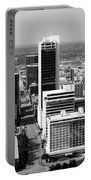Tulsa Oklahoma Skyline Aerial Portable Battery Charger