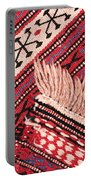 Turkish Rug Portable Battery Charger by Tom Gowanlock