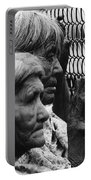 Two Elderly Apache Women Labor Day Rodeo White River Arizona 1969 Portable Battery Charger