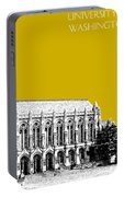 University Of Washington - Suzzallo Library - Gold Portable Battery Charger