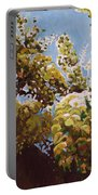 Up Into Wisteria Portable Battery Charger